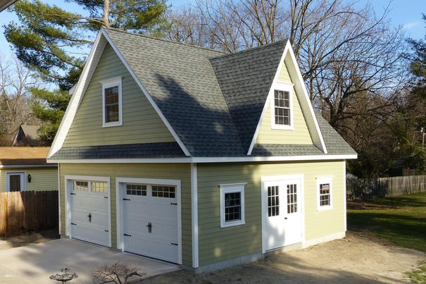 Detached Garage Built In Lancaster Pa: Amish Garage Builders And Contractor