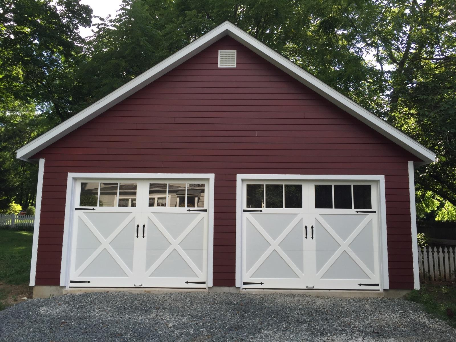 Garages amish garage 1 car garage 2 car garage 3 car for Garage attached