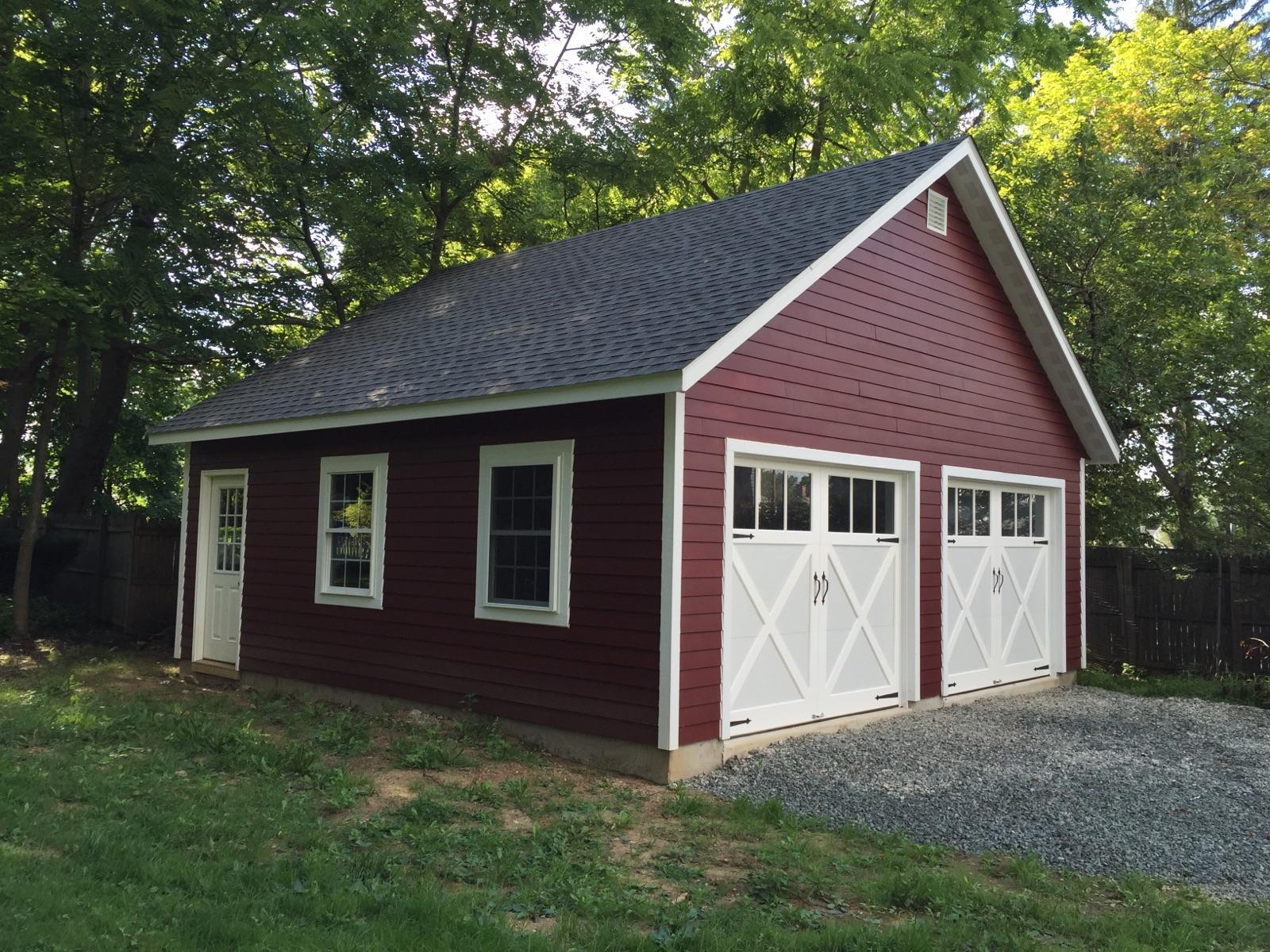 Detached Garage Built In Lancaster Pa: Garages, Amish Garage, 1-car Garage, 2-car Garage, 3-car
